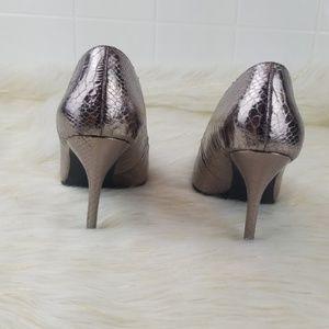 Sam & Libby Shoes - Sam & libby size 8 snake skin heels pointed toe